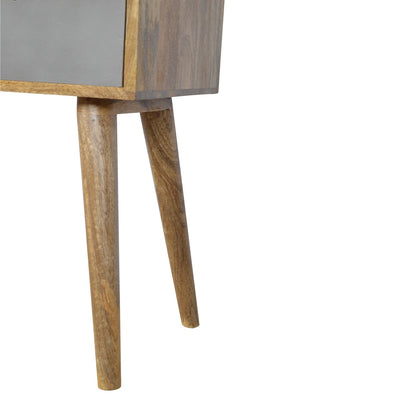 4 Drawer Nordic Style Grey Hand-painted Console Table-Console Table-Chic Concept