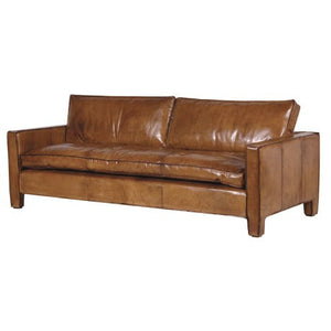 Italian Leather 3 Seater Sofa-Leather Sofa-Chic Concept