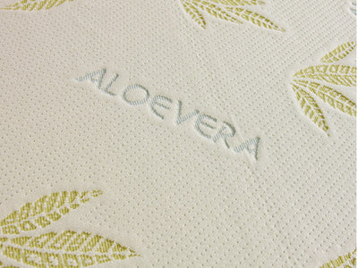 "Aloe Vera Latex Memory and Reflex Foam 8"" Mattress-Memory Foam Mattress-Chic Concept"