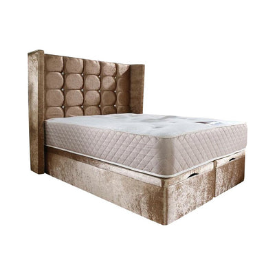 Livingston Wingback Bespoke Ottoman Bed-Bed-Chic Concept