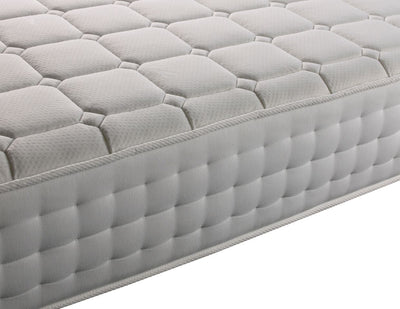 3FT Single - Memory Foam Latex 1500 Pocket Sprung Orthopaedic Damask Fabric Mattress-Pocket Sprung Mattress-Chic Concept