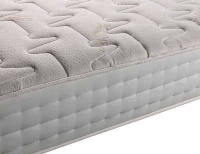 Memory Foam Latex 2000 Pocket Sprung Orthopaedic Damask Fabric Mattress-Pocket Sprung Mattress-Chic Concept