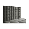 "Cubic Buttoned 24"" Bespoke Headboard-Headboard-Chic Concept"