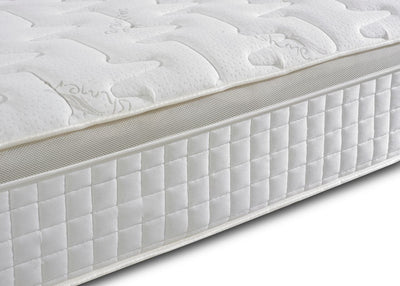 3FT Single - Orthopaedic 1000 Pocket Sprung Gold Pillow Top Border Memory Foam Mattress-Pocket Sprung Mattress-Chic Concept