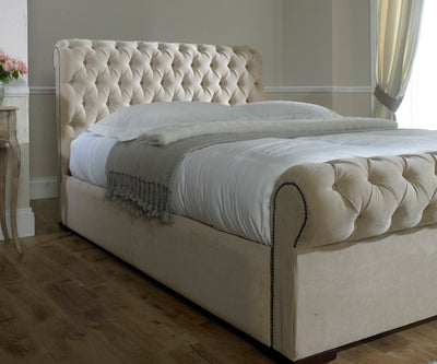 Park Lane Bespoke Sleigh Bed-Bed-Chic Concept