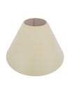Cream Plain Fabric Coolie Shade-Lamp Shades-Chic Concept