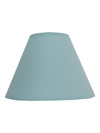 Light Blue Plain Fabric Coolie Shade-Lamp Shades-Chic Concept
