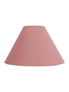 Peach Plain Fabric Coolie Shade-Lamp Shades-Chic Concept