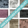 Plain Velvet Swatches-Chic Concept