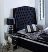New Modern Bespoke Richmond Chesterfield Wing Headboard-Headboard-Chic Concept