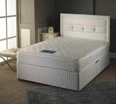 3FT Single-Sheraton 1000 Pocket Sprung Memory Foam Pillow Top Micro Quilted Mattress-Pocket Sprung Mattress-Chic Concept