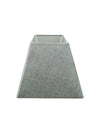 Grey Linen Fabric Square Shade-Lamp Shades-Chic Concept