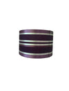 "11"" Purple Silk Fabric Sailing Drum Shade-Lamp Shades-Chic Concept"