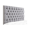 "Savoy Chesterfield Buttoned 24"" Bespoke Headboard-Headboard-Chic Concept"