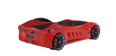 Children's Novelty F555 GTO Race Car Bed Red-3FT Single-Children's Bed-Chic Concept