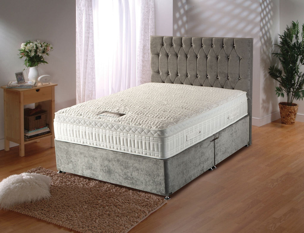 3FT Single-Silver Active 2800 Pocket Sprung Mattress with Anti Bacterial Fabric-Pocket Sprung Mattress-Chic Concept