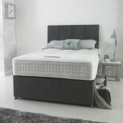 Stratus 1000 Pocket Sprung Hand Tufted Organic Cotton Fabric Mattress-Pocket Sprung Mattress-Chic Concept