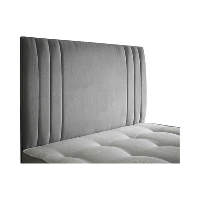 "Modern Bespoke Zien Stripes 24"" Low Headboard-Headboard-Chic Concept"