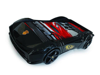 Children's Novelty Ferrari 458 Race Car Bed Black-3FT Single-Children's Bed-Chic Concept