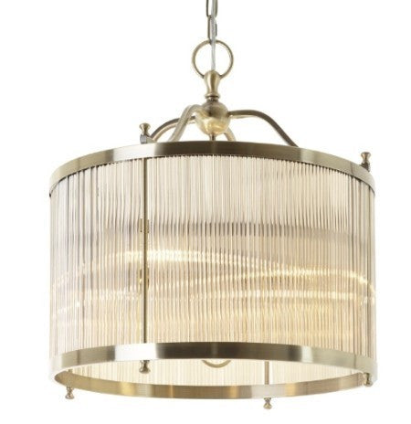 Tudela Antique Brass Ceiling Light Chic Concept