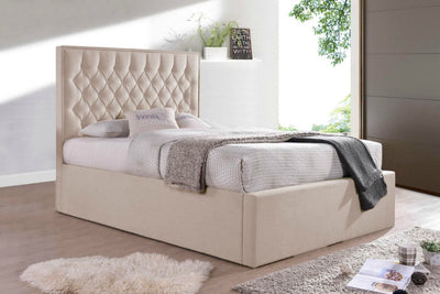 Wilson Fabric Ottoman Storage Bed-Ottoman Bed-Chic Concept