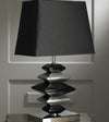 Contemporary Black and Silver Pebbles Lamp-Table Lamp-Chic Concept