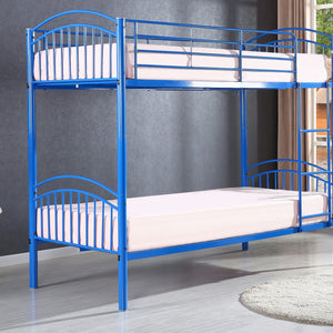 Children's Yorkshire Blue Metal Kids Bunk Bed-Bunk Bed-Chic Concept