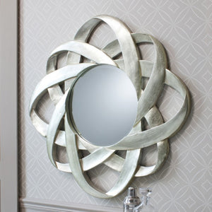 Constellation Modern Wall Mirror Silver-Art Deco Mirror-Chic Concept