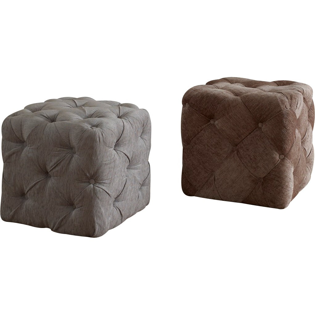 promo code 1e570 93912 Chesterfield Buttoned Upholstered Cube Stool
