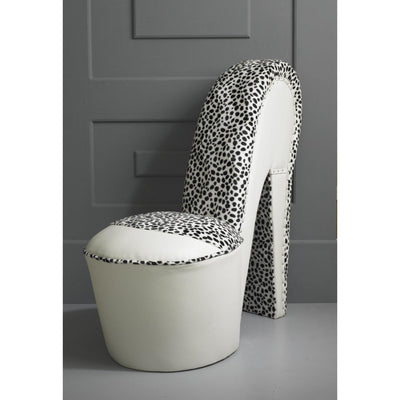 Design Your Own - Animal Print / Faux Leather Bespoke Stiletto Shoe Chair-Shoe Chair-Chic Concept