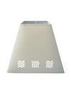 Wave Cream Fabric Shade-Lamp Shades-Chic Concept