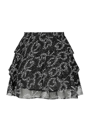 Le Bagatelle Ruffled Skirt