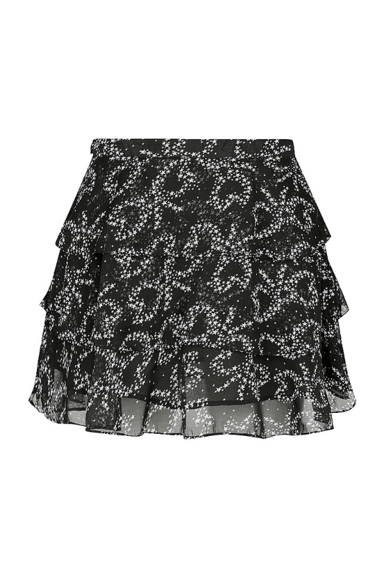 Pam Pam Le Bagatelle Ruffled Skirt