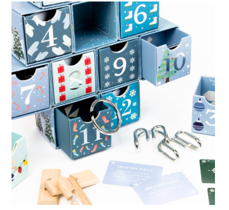 12 Days of Christmas Puzzle Calender