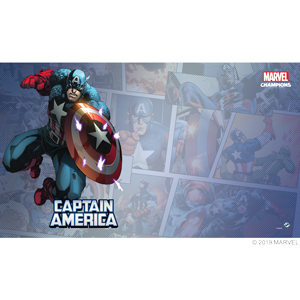 Captain America Card Game Mat