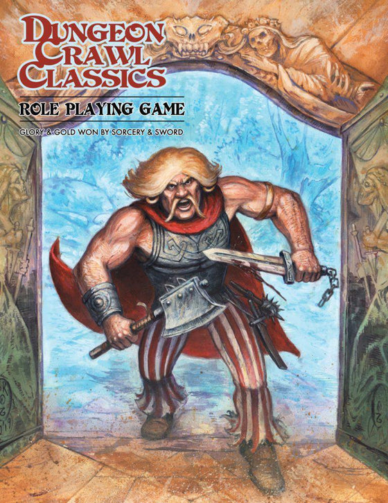 Dungeon Crawl Classics Core Book - Hardcover Angry Hugh Edition