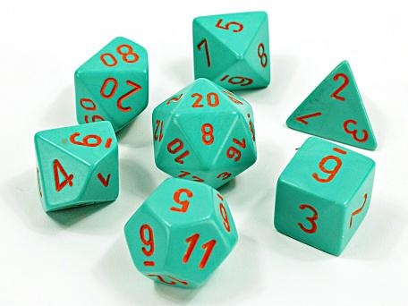 Chessex Lab Dice 7 Dice Sets