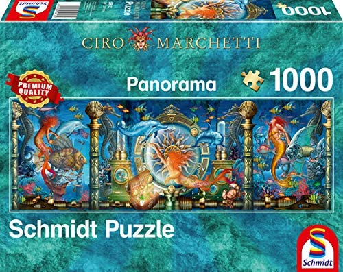 Schmidt Puzzle 1000pc: Underwater World