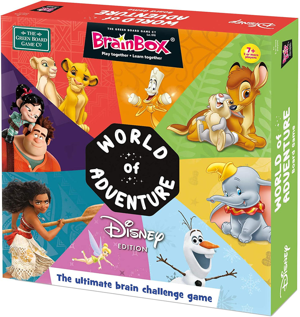 Brainbox World of Adventure Disney Edition