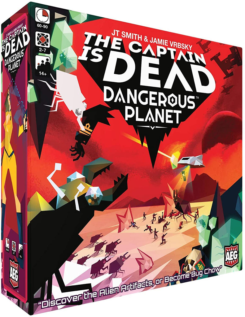 The Captain is Dead - Dangerous Planet
