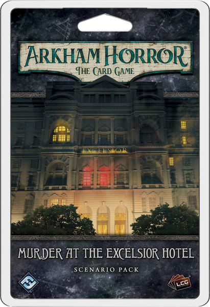 Arkham Horror LCG Murder at the Excelsior Hotel