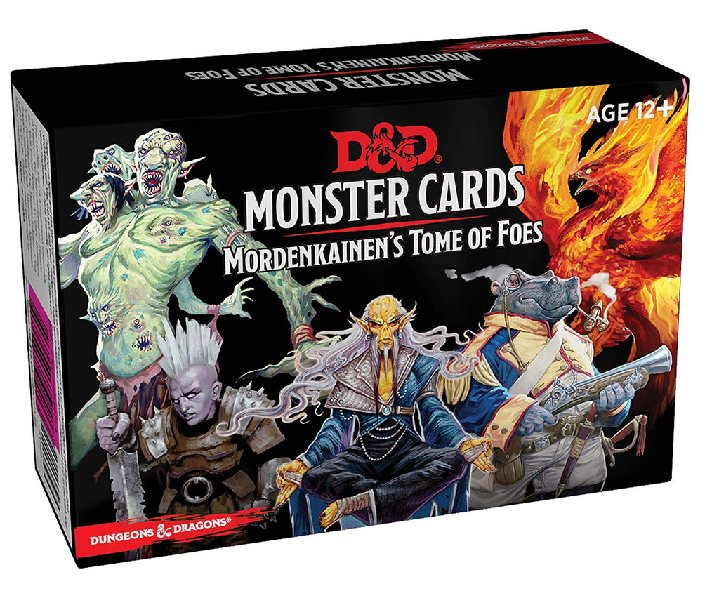 Dungeons and Dragons Mordenkainen's Tome of Foes Monster Cards
