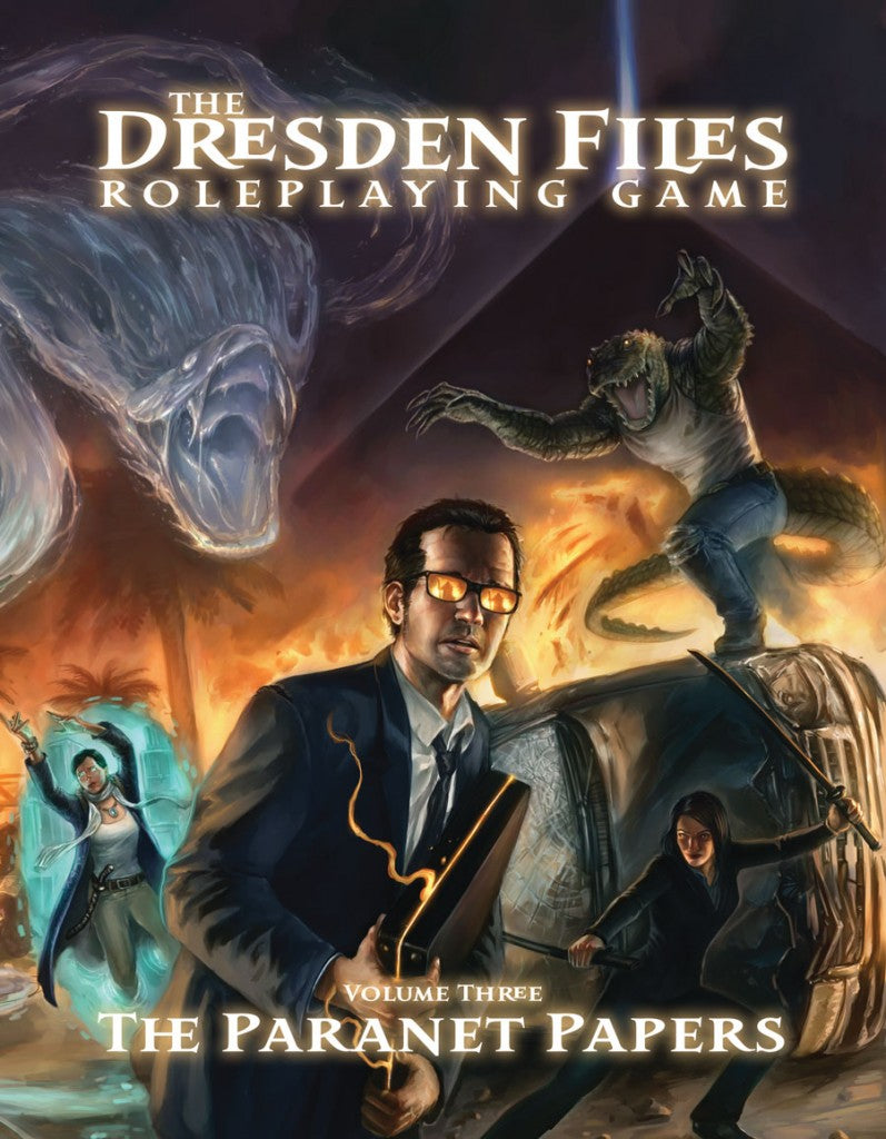 Dresden Files RPG Volume 3: The Paranet Papers