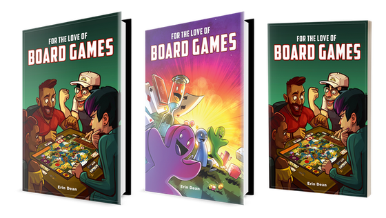 For the Love of Board Games Book