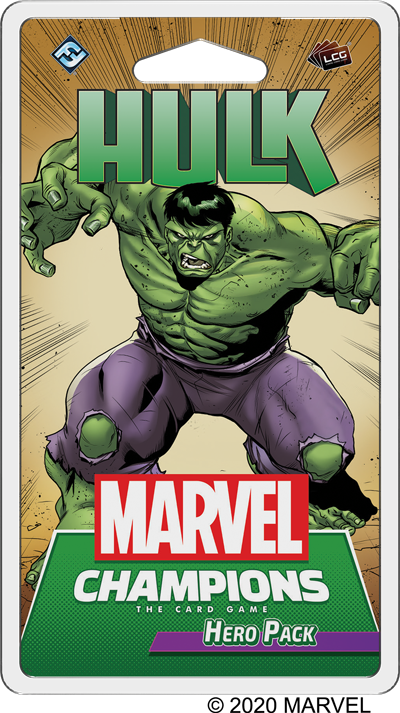 Marvel Champions: The Incredible Hulk Hero Pack