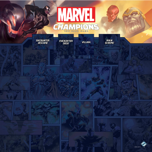 Marvel Champions 1-4 Player Game Mat