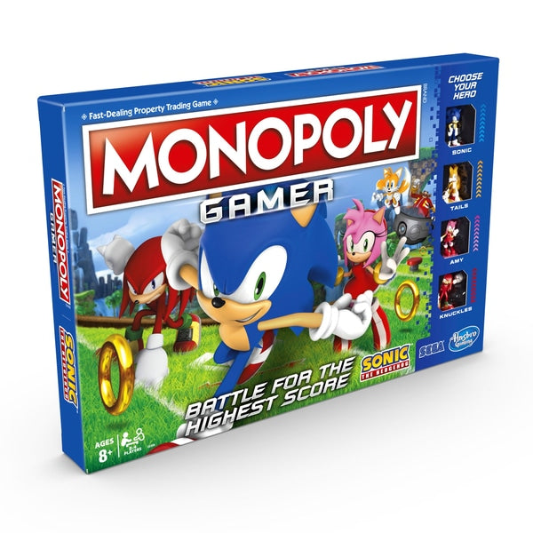 Monopoly Gamer Sonic Edition