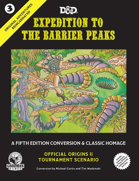 5E Expedition to the Barrier Peaks