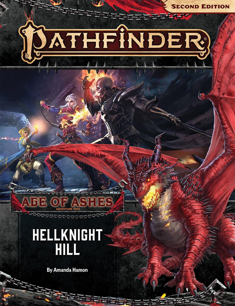 Adventure Path: Hellknight Hill (Age of Ashes 1 of 6): Pathfinder RPG Second Edition