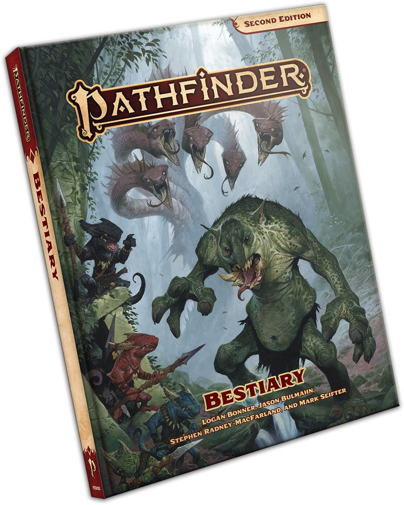 Bestiary Hardcover: Pathfinder RPG Second Edition
